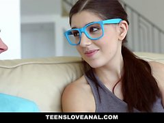 TeensLoveAnal Nerdy Virgin Sodomized