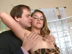 Babysitter Allie Haze Seduces Her Boss's Date