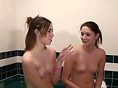 Two naughty teens have some kinky fun