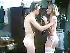 Classic Blonde In Pink Pussy Hardcore