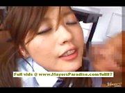 Miyu Hoshino asian schoolgirl enjoys getting a hard fucking