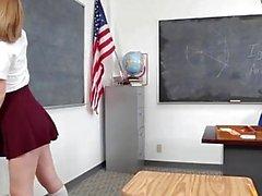 InnocentHigh - Teachers Pet Gets A Creampie