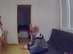 spanish brunette looking a special apartament partner (hidden cam)