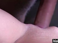 Teen brunette fucked without mercy raw