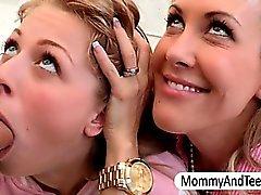 Milf Brandi Love n teen Zoey Monroe 3way
