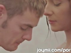 Joymii Slim Young Alexis Brill Makes Love In The Shower And Likes It Wet