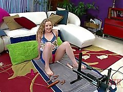ATK Willow Lynn on sex machine