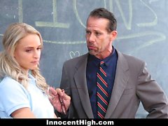 InnocentHigh - Pissed Off Teens Fucked By Teacher