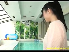 Cute Jav Teen Fingered In The Ass At Swimming Pool Fucked