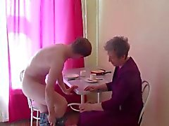 Russian tiny tits granny sc1-table