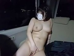 Japanese BigTits Risky Public Nudity & Masturbation At Outdoor Night Live 2