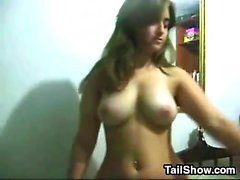 Horny Teen From Brazil