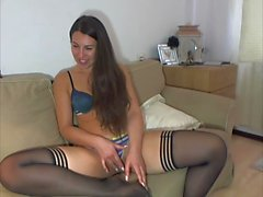 Teen Cam Real Blonde Insterting Part 1