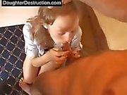 Teen daughter destruction