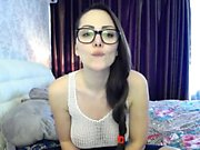 Amazing ebony teen webcam striptease