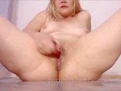 Dildoing Pussy Till Cum - Big Squirting Orgasm