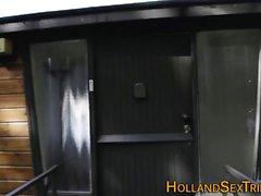 Hooker rides old tourist