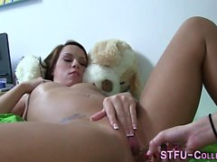 College teen gets toyed