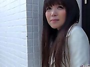Asian teens flash undies