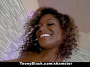 TeenyBlack - Hot Ebony Teen Gets Railed in Doggy