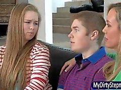 Madison Chandler takes BF to Brandi Love