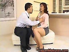 Hitomi Kurosaki Mature Asian chick part5