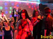 Cfnm teens suck strippers