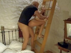 Laura Crystal Is Gets Her Pussy Pounded While Watched by a Hot Voyeur
