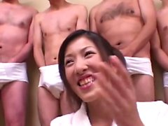 Cum and Sushi For Japanese Teen