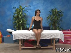 Lustful masseuse gets astonished of snatch pounding action