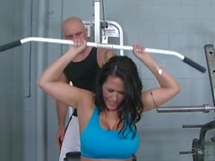 Big Tits Carmella Bing Fucked Hard In Gym!