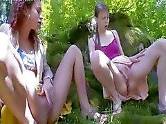 Three russian virgins tease