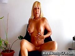 Beautilicious blonde milf with suckable part3