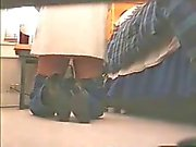 Bad brother caught NOT his sister masturbating. Hidden cam