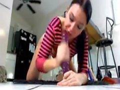 Best sloppy deepthroat blowjobs on webcam