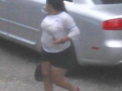 BBW Mexican Teen See Thru
