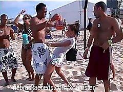 Sorority Girl Spring Break Beach Home Video Part 2