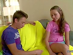 Bro Seduce Extrem Small Step-Sister to Fuck