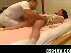 cute teen fucked by masseur