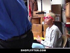 ShopLyfter - Ebony Teen Caught Stealing