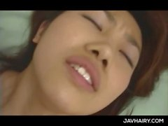 Doll faced Asian teen slit shagged hard after giving blowjob