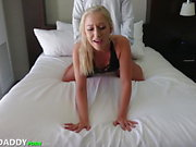 Sugar Daddy Finds Hot Blond To Help With Rent