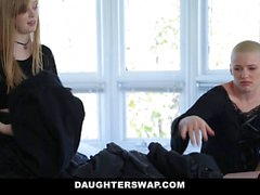 DaughterSwap Gothic Sluts Fucked By BFFS dad pt