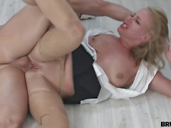 BrutalX - Office slut takes a rough fuck