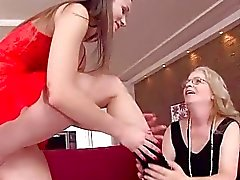 Grandmas and Teens Love and Nasty Sex