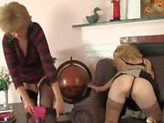 Mature woman punished girl