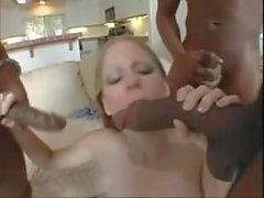 Pregnant Teen Fucked By Three Big Black Cocks (TeRRiFieR)