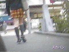 Bicycle Girls Panties Full Exposure