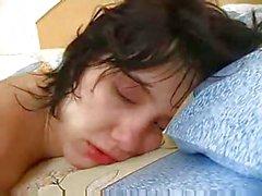 Drunk sleeping teen sister abused