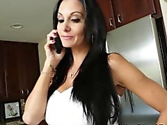 Housewife Ava Addams seduces young dude